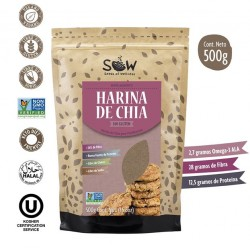 HARINA DE CHIA SOW - 500 GRS
