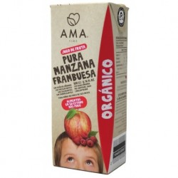 JUGO MANZANA FRAMBUESA ORGANICO 200 CC (PACK 3 UNIDADES)