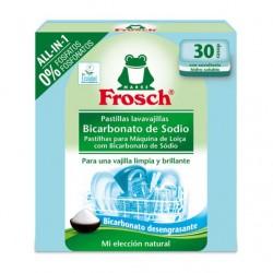 Tabletas lavavajilla todo en uno 30 unidades Marca Frosh