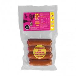 Chorizo vegano tradicional 230 gramos Marca Pow Foods