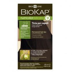 2.9 delicato rapid castaño oscuro chocolate 135 gramos Marca Biokap