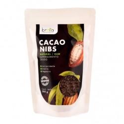 Cacao nibs 300 gramos Marca Brota