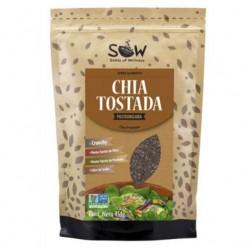 Chia tostada sow 454 gramos Marca Sow