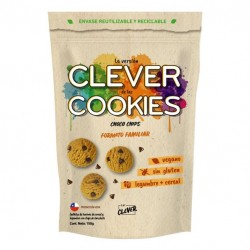 Clever cookies choco chips 150 gramos Marca Eat Clever