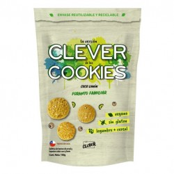 Clever cookies coco limon 150 gramos Marca Eat Clever
