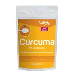 Curcuma 100 gramos 6 unidades Marca Nativ For Life