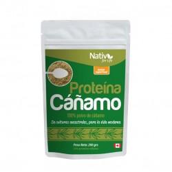 Proteína de cañamo 200 gramos 6 unidades Marca Nativ For Life