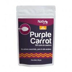 Zanahoria morada 100 gramos 6 unidades Marca Nativ For Life