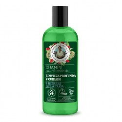 Shampoo limpieza profunda y cuidado 260 cc Marca Babushka Agafia