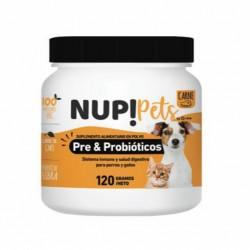 Nup! petspre&probioticos para perros y gatos sabor carne
