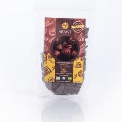 Cobertura chocolate organica 60% Chips 227 gramos Marca Arawi