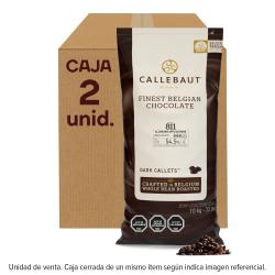 CHOCOLATE SEMI AMARGO 54% BOLSA 10 KGS