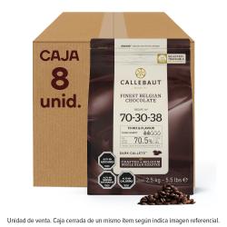 CHOCOLATE AMARGO 70% BOLSA 2.5 KGS