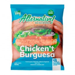 Chicken't burguesa Alternative 100 gramos Marca Vilay
