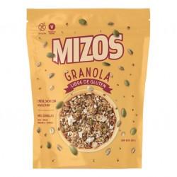 Granola mix semillas 250 gramos Marca Mizos