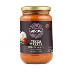 Tikka masala sauce organic 350 gramos Marca Biona
