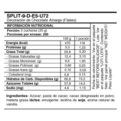 Caja de 20 kilogramos de escamas de chocolate XL Callebaut
